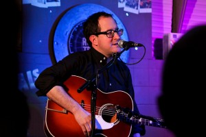 Craig Finn onstage at the Rough Trade East on January 25. Photo: Linas Justice