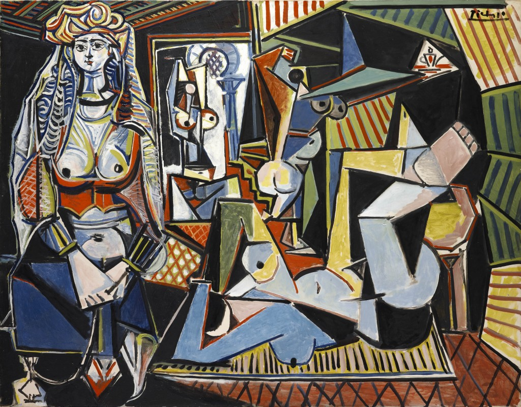 Pablo Picasso  Women of Algiers (Version O) 14 February 1955  European prvate collection, courtesy of Libby Howie  © Succession Picasso / DACS 2011