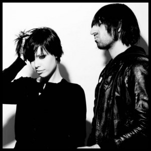 Alice Glass and Ethan Kath of Crystal Castles