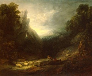 Gainsborough Romantic Landscape