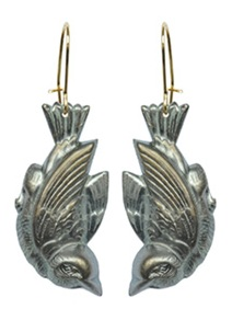 WDC blackbird earrings