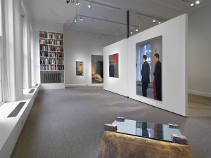 View of gallery featuring Mobili Capovolti (1976).
