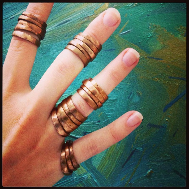 copper combo rings