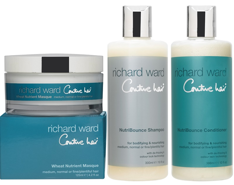 RW Couture Hair NutriBounce shampoo conditoner and masque pg