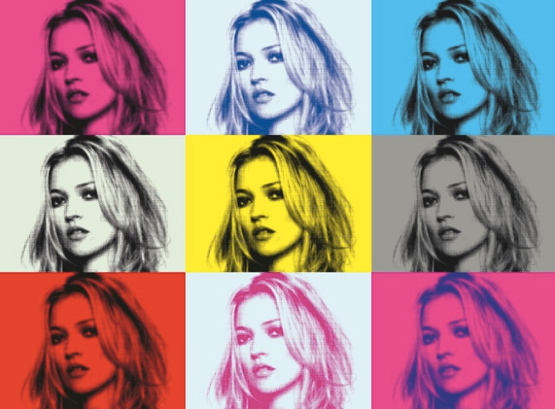 Kate Moss - colours available