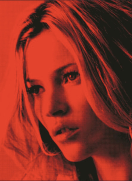 Kate Moss red