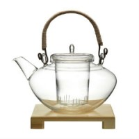 Whittards glass teapot