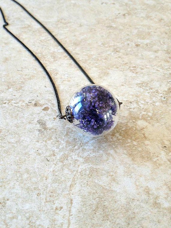 HL Purple Caspia Necklace
