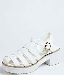 Kim cleated sole fisherman sandals from Boohoo