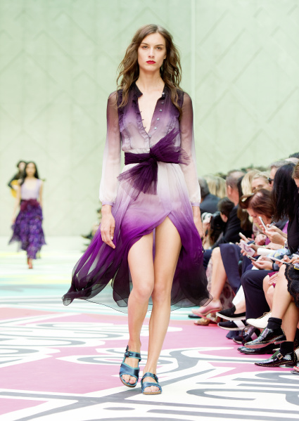 Burberry Prorsum Womenswear Spring Summer 2015 Collection - Look 33
