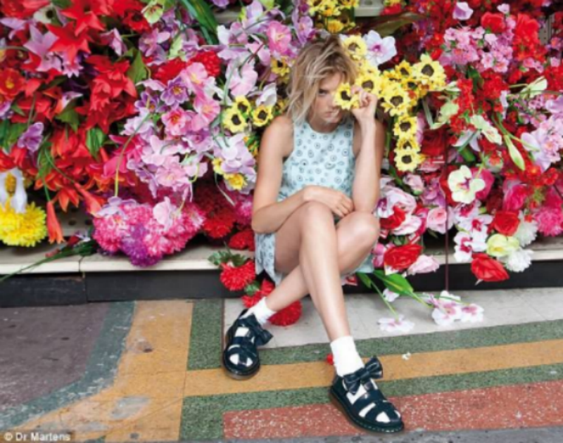 Agyness Deyn for Dr Martens