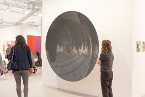 Art Frieze fair at  Regents Park in London