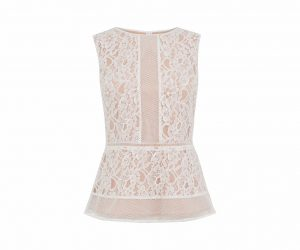 2. Lace top