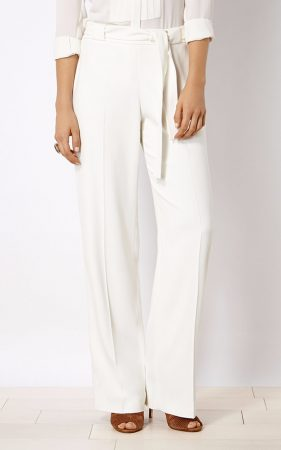 3. Tailored Wide-Leg Trousers
