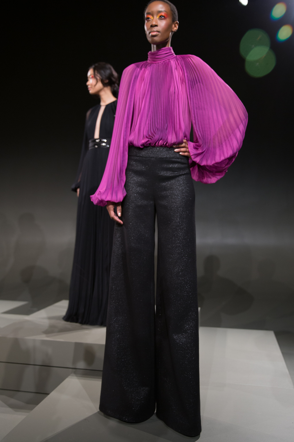 NYFW AW17 - (Carmen Marc Valvo) - (Dominique Pettway) - The Upcoming (8 of 12)