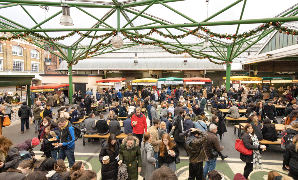 Borough Market Kitchen Brings The Community Together With Delicious World Cuisine The Upcoming