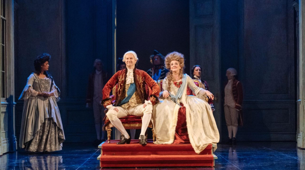 Nottingham Playhouse's The Madness of George III at the National ...