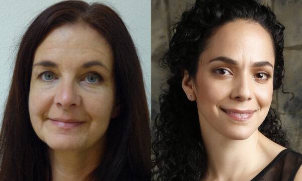 Anna Reynolds and Géhane Strehler headshots
